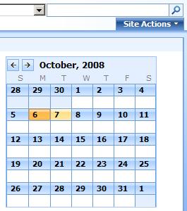 Tiny Calendar.An Experiment Tiny Calendar Jquery Zoom Path To Sharepoint